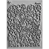 "Lisa Pavelka Individual Texture Stamp 4.25""X5.5""-Bloomin'"