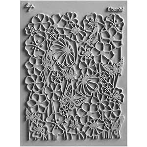 Lisa Pavelka Individual Texture Stamp 4.25x5.5-Bloomin'