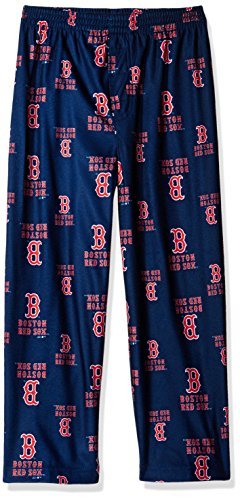 - Outerstuff MLB Boston Red Sox Boys 4-7 Sleepwear All Over Print Pants, Small (4), Athletic Navy