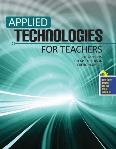Applied Technologies for Teachers