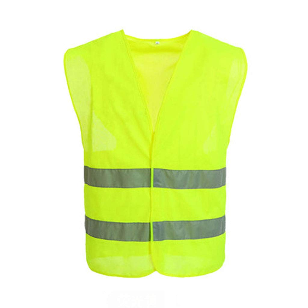 YYHSND Reflective Vest, Visibility Site, High Road Traffic Engineering, Fluorescent Health Service Reflective Vests (Color : 20 Packs, Size : M)