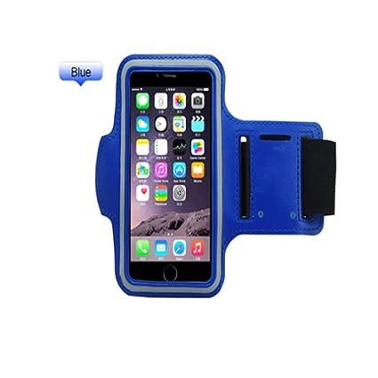 Sujetador de brazalete ligero Bolsa para el brazo del teléfono móvil que se ejecuta al aire