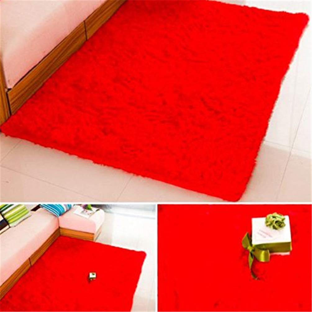 Royare Home Decorations mat Carpet Solid color Home Living Room Rug Table Mat Floor Cover Bedroom Pad (color   G4, Size   60x90cm)
