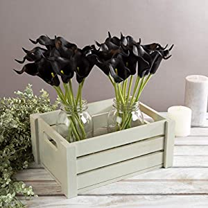 Pure Garden Artificial Calla-Lily with Stems - Real Touch Fake Flowers for Home Décor, Wedding, Bridal/Baby Shower, More- 24 Pc Set 71