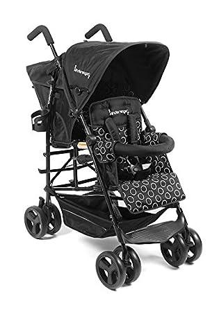 Kinderwagon Hop Tandem Umbrella Stroller - Black v2 by Kinderwagon: Amazon.es: Bebé