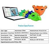 3D Printer, Perfectink CR 10 Aluminum High Precision Single Z-axis Semi-Assembled 3D Printer Kit with PLA Filament TF card (Large Print Size 300x300x400mm)