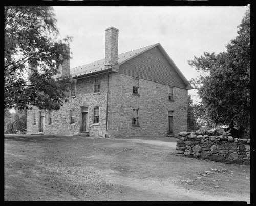 HistoricalFindings Photo: Quaker Meeting House,Friends',Winchester,Virginia,VA,Architecture,South,c1930 2