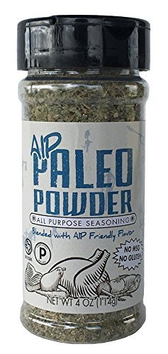 Paleo Powder Autoimmune Protocol All Purpose Seasoning. The Original Paleo AIP Seasoning Great for All Paleo Diets! Certified Ketogenic Food, Paleo Whole 30, AIP Food, Gluten Free Seasoning.