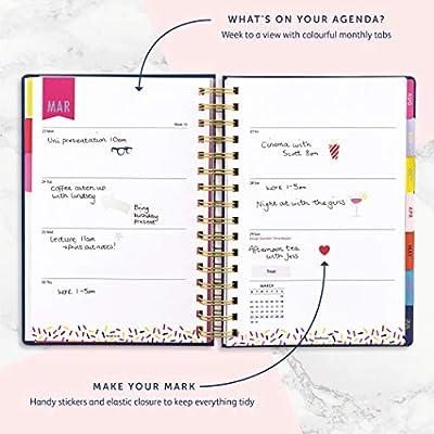 Amazon.com: Busy B 2020 Agenda – Agenda A5 semana a vista ...