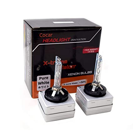 12V 35W Pack of 2 D3S Bombilla Hid Xenon Luces 6000K