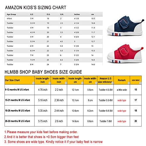 c5c414096af1e HLMBB Baby Girl Shoes for Infant Newborn Girls Boy Babies Tennis for  Walking Running