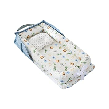 Colchón Para Cuna Portátil De Viaje Tela Respirable Máximo Confort Para El Bebé
