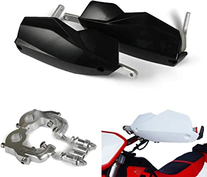 "7//8/"" 22mm Handlebar Motorcycle Handguard Protector Hand Guards Racing Pit Bike"