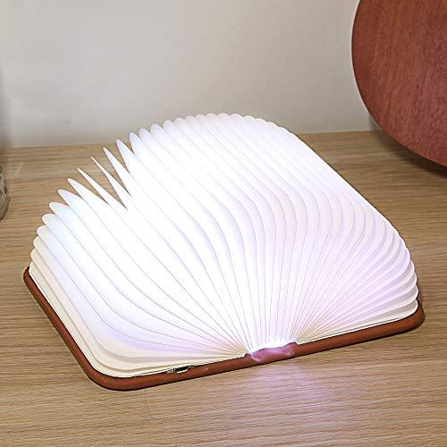 Led Folding Book Light,USB Color-Change Lamp Nightlight Creative