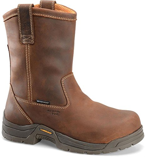 Carolina CA2520 Steel Toe Waterproof Ranch Wellington Boot (12 2E US, Copper) - Ranch Wellington Boots