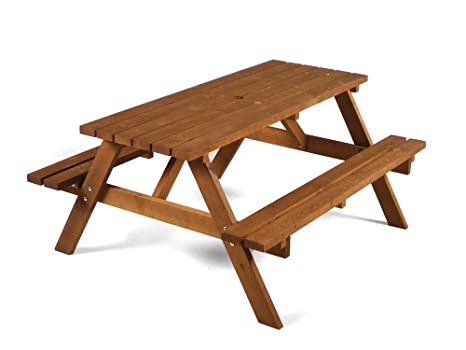 Cool Durham Heavy Duty Wooden A Frame Picnic Table Traditional A Frame Wood Picnic Bench To Seat 6 Customarchery Wood Chair Design Ideas Customarcherynet