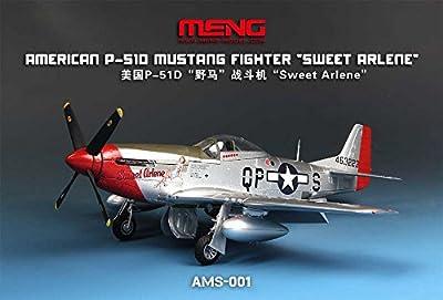 Meng Model 1:48 - P-51d Must Ang Assembled Model