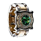 bromrefulgenc Ring for Women Men,Female maleRound