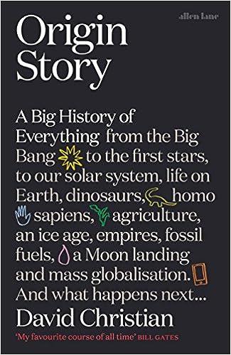 Origin Story: A Big History of Everything: Amazon.es: David Christian: Libros en idiomas extranjeros