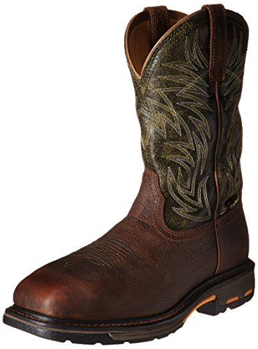 Work Composite Mens Boot Moss Ariat Ridge Square Wide Brown Green Toe Metguard Workhog qfqwFAO
