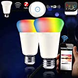 JIAWEN RGBW Intelligent Zigbee Smart Colorful Light Led Bulb Remote Control by Smart Home Review