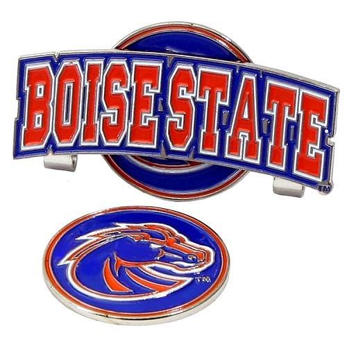 - Boise State Broncos Slider Hat Clip W/ Golf Ball Marker - NCAA College Athletics