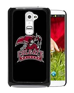NCAA Colgate Raiders 2 Black Hard Shell Phone Case For LG G2
