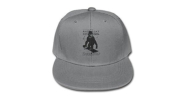 afb1f83bdd5 Amazon.com  Skateboard Chimpanzee Sport Caps Plain Snapback Hats Youth Boys  Snapback Hat (6310292267567)  Books