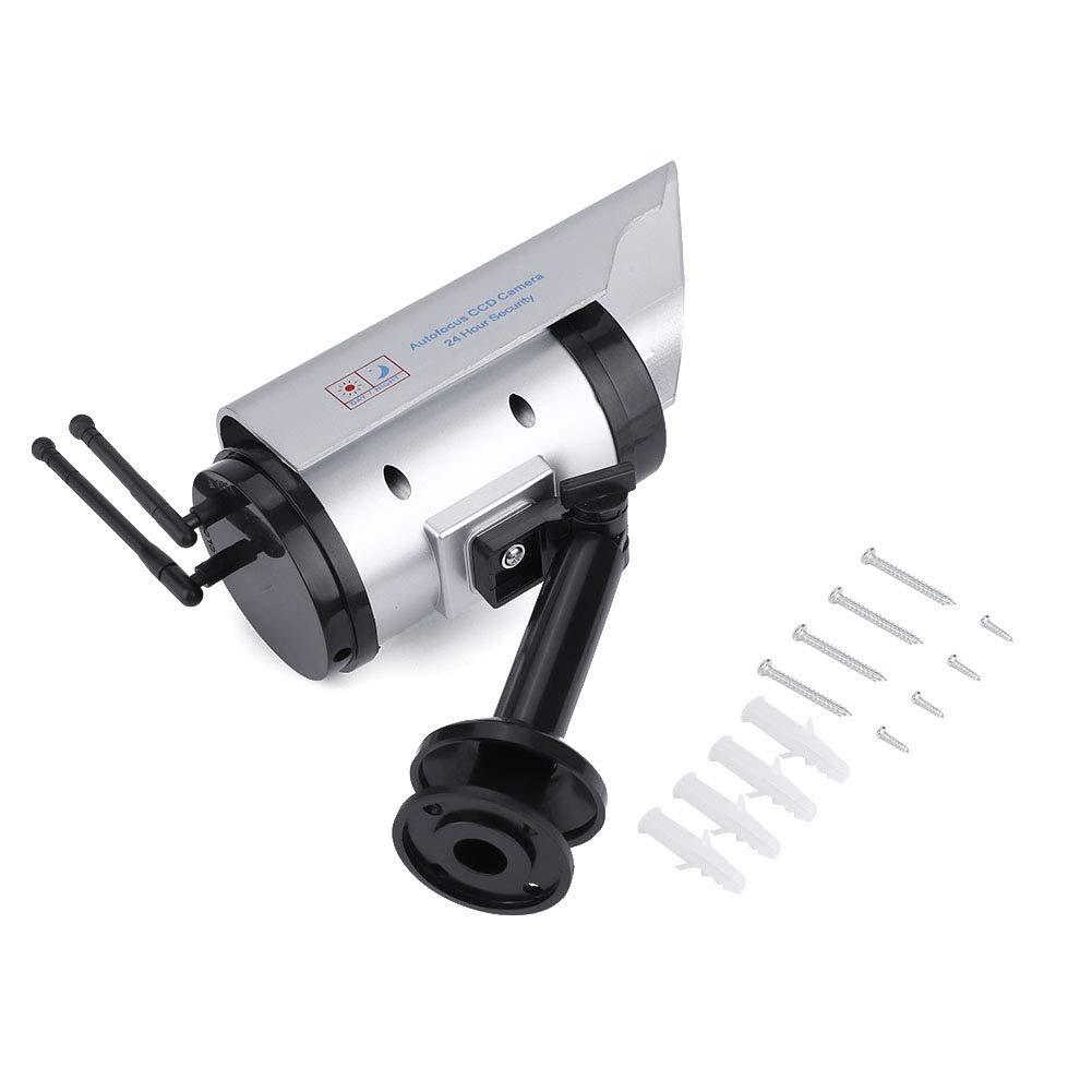 Sanpyl Solar Power Dummy Camera,CCTV Fake Security Surveillance Indoor/Outdoor Adjustable Camera by Sanpyl