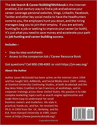 Job Search & Career Building Workbook: 2016 Edition - Mastering ...