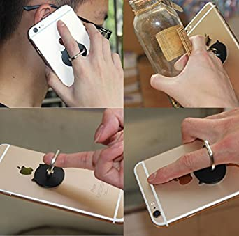 phone ring Washable Finger Ring phone Stand /&holder 2pcs //360/°Rotation 180/°Flip Universal Finger Ring Car Mount Phone Ring Grip for iPhone Samsung Galaxy LEDING B13 Removable black pig