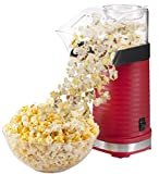 Chefman Air Pop Popcorn Maker, Makes 12 Cups of Popcorn, FREE Measuring Cup and Removable Lid