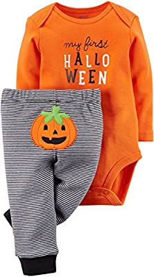 Gender Nutral Baby's First Halloween Outfit by Carter's
