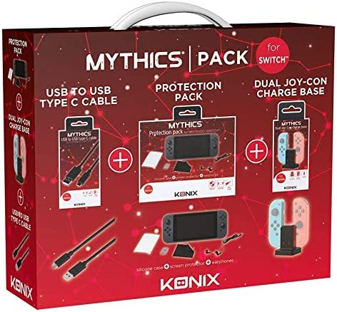 No Name (foreign brand) Switch - MYTHICS Accessories Pack: Amazon.es: Videojuegos