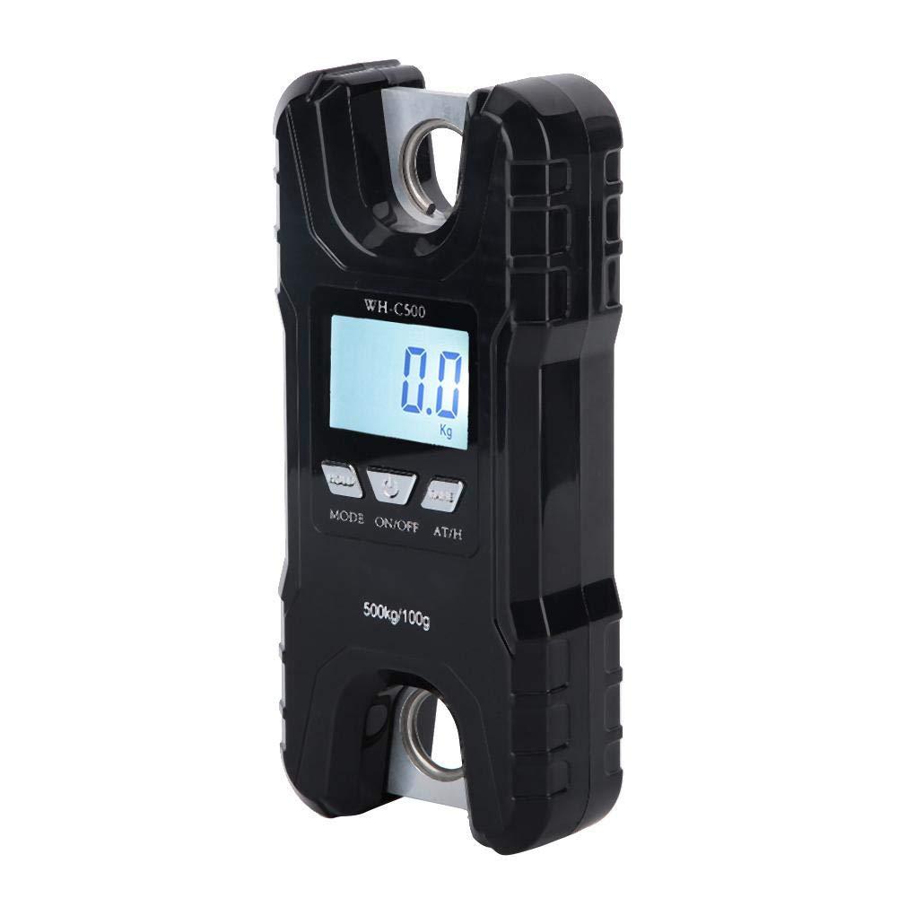 Liukouu 500kg Tragbare Digitale Elektronische H/ängewaage Gep/äckhakenwaage Hohe Pr/äzision