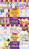 Melissa & Doug Dress-Up and Play House Reusable Sticker Pad Bundle