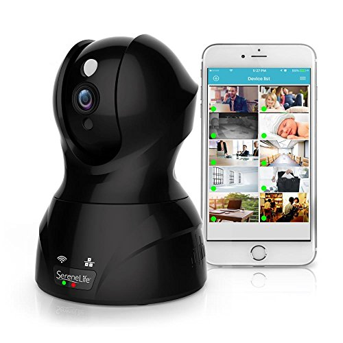 Indoor Wireless Camera Surveillance Monitoring