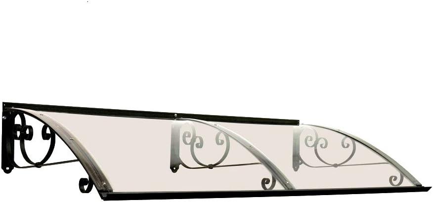 BELLHOUSE COPERTURE h/älzern Vordach Modell Legno Stella HONIG TIEFE 90 H/ÖHE 42 BREITE 150 ZM BRONZIERT