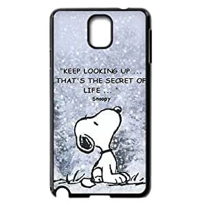 Hjqi - Personalized Snoopy Cover Case, Snoopy Custom Case for Samsung Galaxy Note 3 N9000