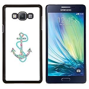 Planetar® ( Minimalista Vela blanca del trullo ) Samsung Galaxy A7 A7000 Fundas Cover Cubre Hard Case Cover