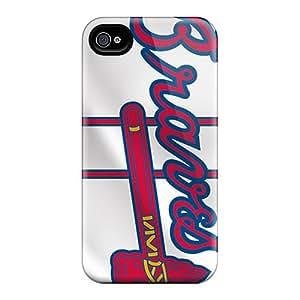 AaronBlanchette Iphone 6 Anti-Scratch Hard Phone Covers Customized Lifelike Atlanta Braves Image [Bqo391psmD]