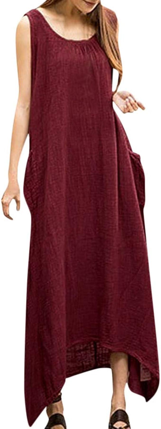LILICAT_Kleid Damen Fließende Longbluse Casual Leicht