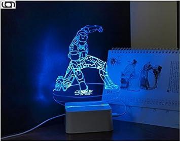 Vision De Led amp;ghost Illusion Lampe Gary Table 3d Effet Optique bfy6Yg7