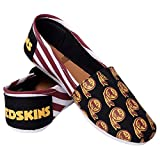 NFL Washington Redskins Women's Canvas Stripe Shoes, Small (5-6), Red