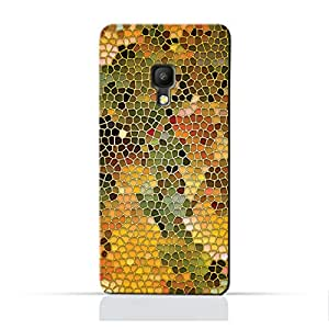 AMC Design ALCATEL Pixi4 5.0TPU Silicone Protective Case with Stained Art Glass Pattern