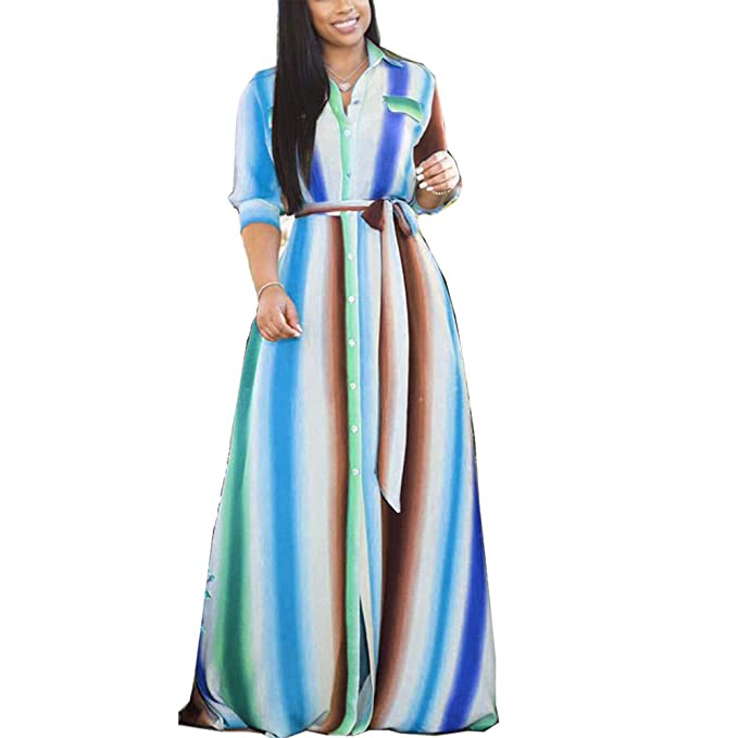 IyMoo Plus Size Boho Dresses - Women Summer Print Beach Dress Country Style  Loose Casual Dresses