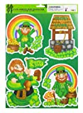 St. Patrick's Static Window Cling - The Leprechauns 3pk