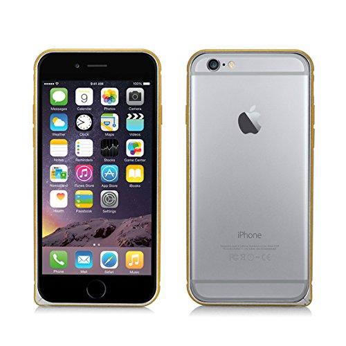 Alienwork Coque pour iPhone 6 ultra-mince Case Etuis Housse Aluminium argent AP604-02