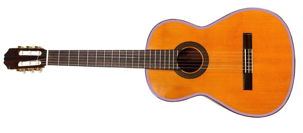 2 Meter Gitarren Umrandung 5mm breite, Hochglanz pink StickandShine