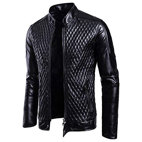 Winter Coat Top Black Cortex Motorcycle Blouse Autumn Outwear Leather Collar Jacket Stand Zipper Tianya Men Jacket H7qwPxSEAZ
